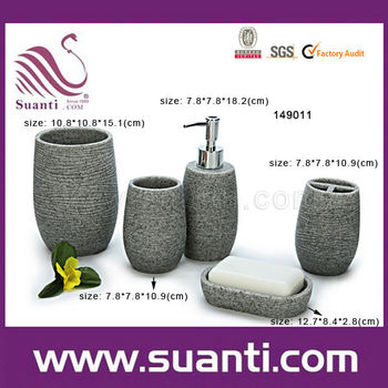 Factory price cheap suanti brand accessories for bathroom