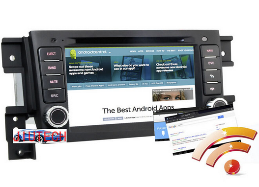 Android 5.1 Car GPS Navigation System DVD CD Radio Audio Stereo for Suzuki Grand Vitara GPS Navigation Auto Radio In Dash