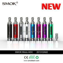 china supplier Smoktech pyrex glass ecig tank atomizer airflow controllable