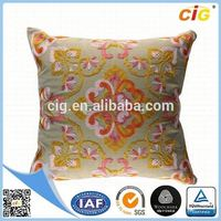 Newest Design Attractive ribbon embroidery cushion covers design