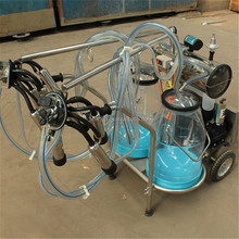 Transparent Buckets Human Milking Machine for Sale