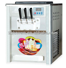 soft tabletop ice cream maker with 2+1 flavors
