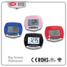 PD-6080 big screen pedometer ,count steps pedometer