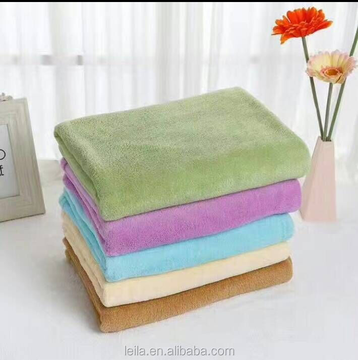 100%polyester coral fleece blanket new style