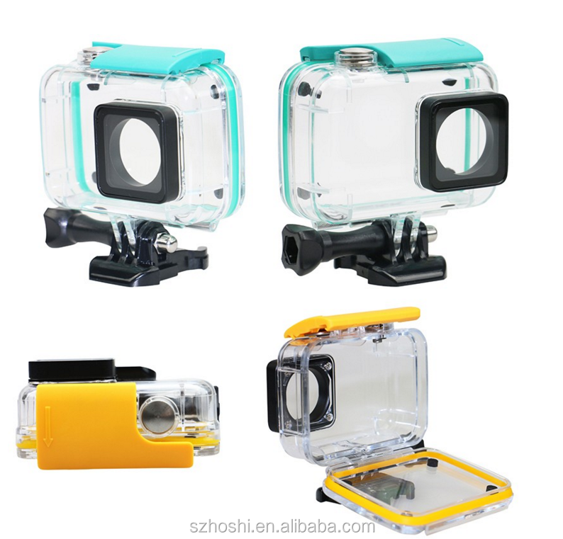 Camera Diving 40M Waterproof Case for Xiaomi Xiaoyi YI Sports Camera II 2 Case Xiaomi YI 4K gopro hero 4 accessories
