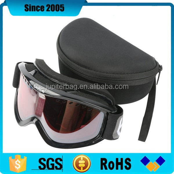 usa custom eva ski swimming snow goggle hard case with foam