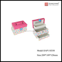 2016 newest lovely rolling makeup case