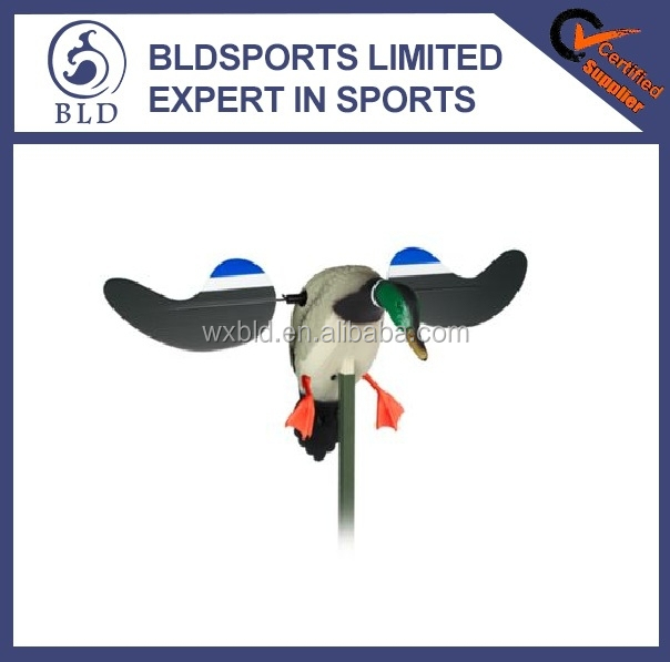 2015 New fashion high quality Mallard Drake with Remote Motion MOJO Duck Decoy