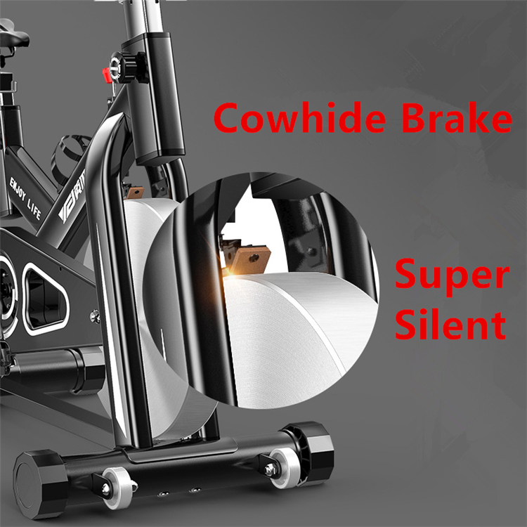 Home Sport Equipment Super - quiet Magnetic Control Commercial Spin Bike