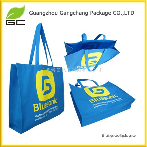 OEM printed PP shopping Eco-friendly non-woven fabric bag