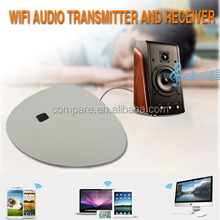 ar9331 atheros wireless wifi audio streaming receiver adapter/ smart music wifi router supports Airplay, Dlna, Qplay - White