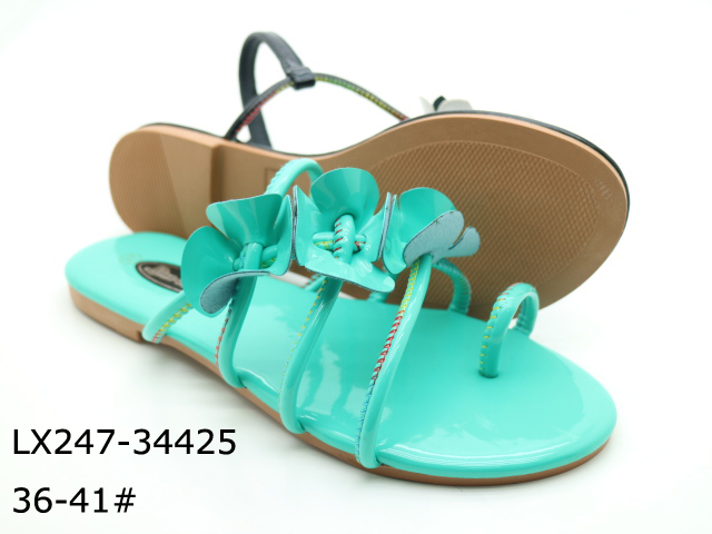 Cheap leather wholesale chaussure femme bulk sandals