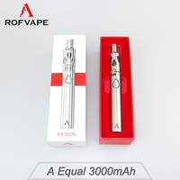 Reviewer suggested! Rofvape A Equal starter kit 3000mah ego ce4 vaporizer pen and 1500mah A Equal Mini