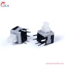 China-made 6 pin 5.8x5.8 Side six feet push button switch