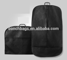 Foldable non woevn suit bag garment packaging bag for men