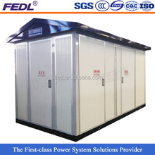 YBW 680kw prefab distribution transformer substation
