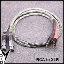 YIVO OEM ODM HC01# Wholesales HIFI DIY Audio Video Male Female XLR RCA Cable