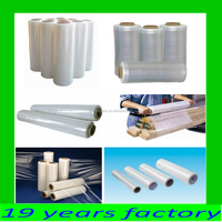 100% pure LLDPE/PE stretch film, wrapping film pallet