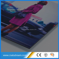 cheap outdoor sign board material ACP ACM
