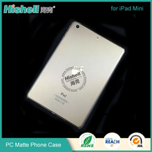 China Manufacturing Ultra thin Matte PC Case for iPad Mini