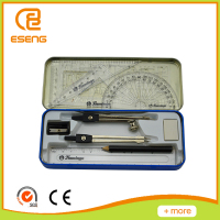 Math Tool Sets Including Rulers/ Pencil/Compass/Eraser/Sharpener