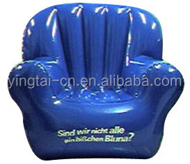 cheap inflatable chair pvc transparent inflatable sofa for sale