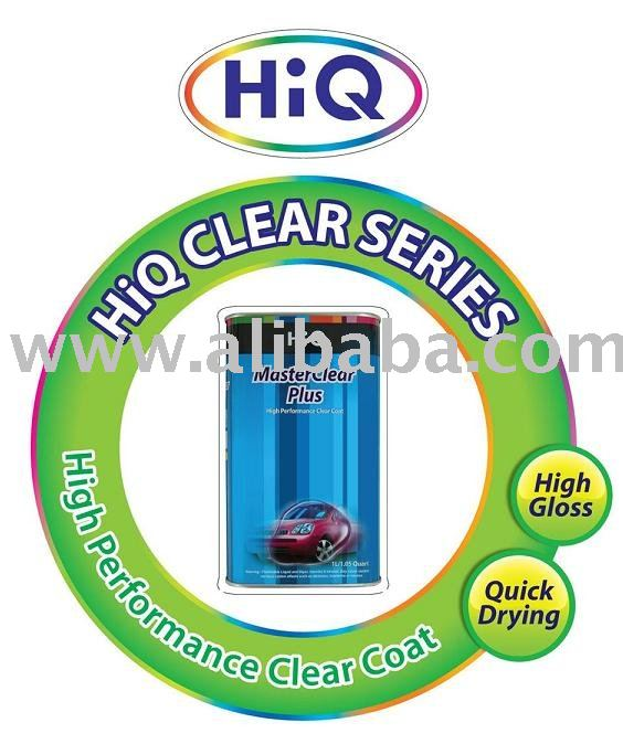 "HiQ Refinish Clearcoat ""Master Clear Plus"""