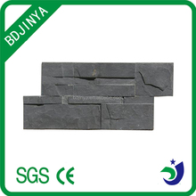 black slate flat cladding stone