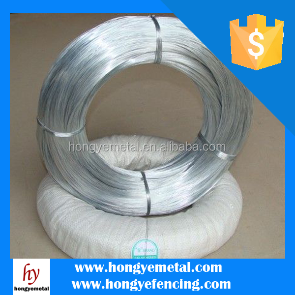 Low Price White Electro Galvanized Iron Wire