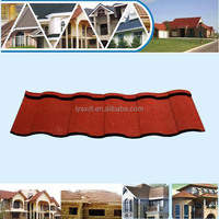 Synthetic resin PVC plastic spanish roof tile