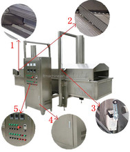 Automatic Continuous Working Fryer for Corn Starch Pellets