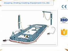 auto body frame straightener/car chassis straightening bench/auto body pulling post