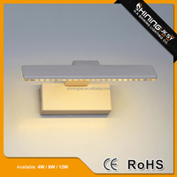 Wall bracket light fitting,wall mounted uplight,wall reading lamp hotel
