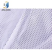 polyester sports polyester spandex fabric spandex mesh fabric stretch for clothing 30-120GSM