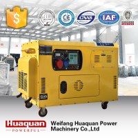 Good price electric generator 8kw 10kva Air cooled small silent diesel generator set