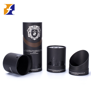 High Quality Custom Round Tall Wine Gift Box Tube Packaging