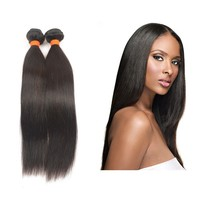 Elegant Top Quality 3PCS 8inches indian micro bead human hair extensions virgin indian hair