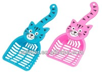 new 2014 product Pet Cat shape Litter poop Scooper Tool Handle Top