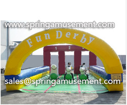 Inflatable Pony Hop Horse Racing, bouncer, extreme Interactive Sports Game toy Inflatable SP-SP043