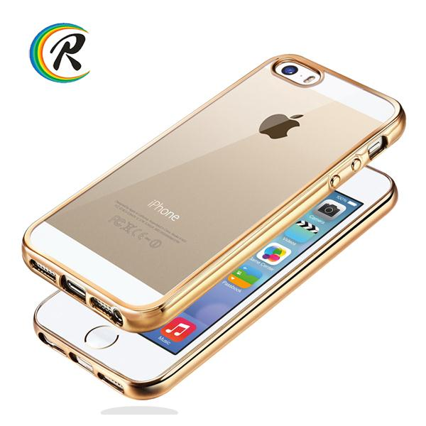 cell phone heavy duty shockproof electroplating case for iPhone 5 electroplating bank cover sublimation case