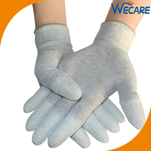 Carbon Fiber PU Top Fit Electronic Lint Free ESD Gloves