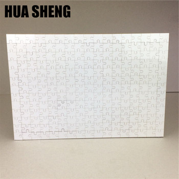 A3 blank sublimation jigsaw MDF puzzle for heat press