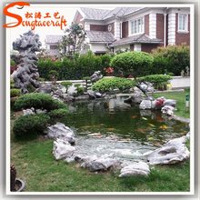2015 China Factory direct make artificial water fountains artificial landscaping garden stone