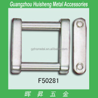 Hot selling 1 inch metal buckle of bag accessories