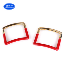 2017 Most popular charms plastic shoe buckles accessories
