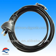 AC Power cable suit for Hair straightener with SAA approval