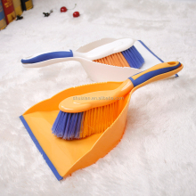 Plastic Dust Brush Soft Bristle Household Dusting Cleaning Brush with Duspan Set