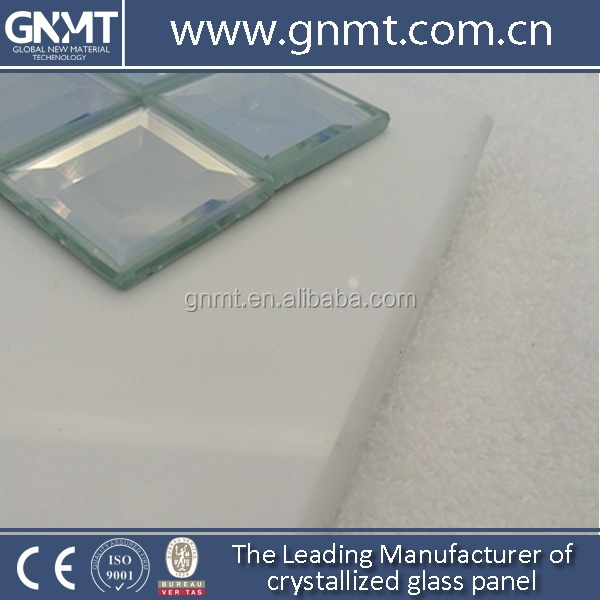 Solid Surface Polished Crystallized Glass Stone Material Building Material Tiles