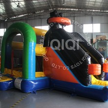 Customized PVC jumping castles with prices, cheap bounce houses for adult