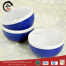 portable ceramic microwave safe rice bowl high quality